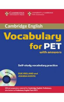 Cambridge Vocabulary for PET Student Book with Answers and Audio CD -- Učebnice