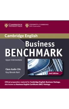 Business Benchmark Upper Intermediate Business Vantage Class Audio CDs (2) -- CD