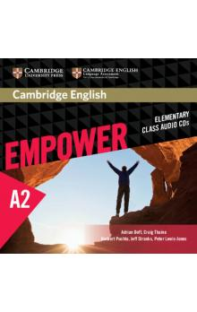Cambridge English Empower Elementary Class Audio CDs (3) -- CD