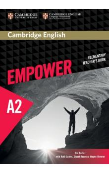 Cambridge English Empower Elementary Teacher's Book -- Příručka učitele