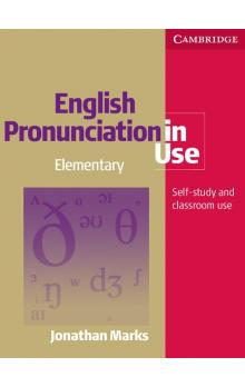 English Pronunciation in Use Elementary Book with Answers, with Audio -- Učebnice