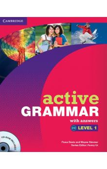 Active Grammar Level 1 with Answers and CD-ROM -- Učebnice