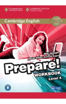 Cambridge English Prepare! Level 4 Workbook with Audio -- Pracovní sešit