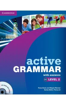 Active Grammar Level 2 with Answers and CD-ROM -- Učebnice