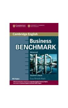 Business Benchmark Advanced Student's Book BEC Edition -- Učebnice - Brook-Hart Guy