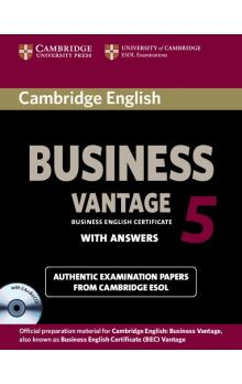 Cambridge English Business 5 Vantage Self-study Pack (SB with Answers and Audio CDs (2)) -- Rozšiřující vzdělávací materiály