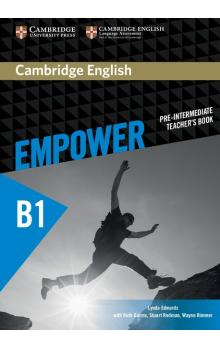 Cambridge English Empower Pre-intermediate Teacher's Book -- Příručka učitele