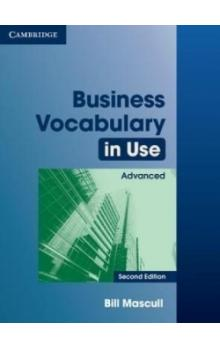 Business Vocabulary in Use Advanced with Answers -- Učebnice