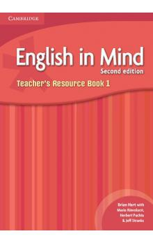 English in Mind Level 1 Teacher's Resource Book -- Příručka učitele
