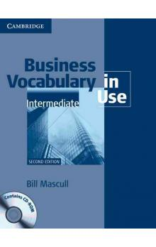 Business Vocabulary in Use Intermediate Second Edition With Answers + CD-Rom Pack