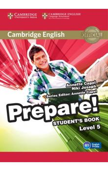 Cambridge English Prepare! Level 5 Student's Book -- Učebnice