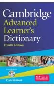 Cambridge Adv. Learner's Dictionary with CD-ROM with CD -- Slovníky