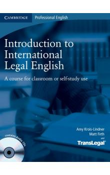 Introduction to International Legal English Student's Book with Audio CDs (2) -- Učebnice