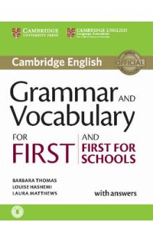 Grammar and Vocabulary for First and First for Sch. Book with Answers and Audio -- Učebnice