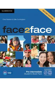 face2face Pre-intermediate Student's Book with DVD and Online Workbook -- Učebnice