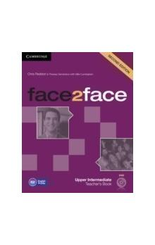 Face2face Second Edition Upper Intermediate Teacher's Book With DVD