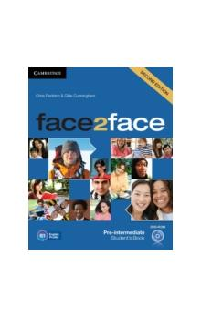 Face2face Second Edition Pre-intermediate Student&#39s Book + Audio Cd/cd-rom