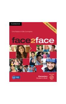 Face2face Second Edition Elementary Student&#39s Book + Audio Cd/cd-rom