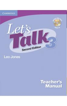 Let's Talk Level 3 Teacher's Manual with Audio CD -- Příručka učitele - Jones Leo