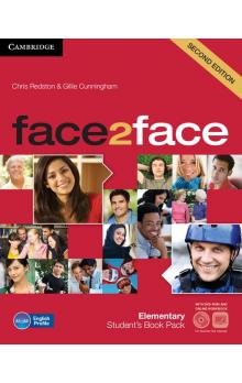 face2face Elementary Student's Book with DVD and Online Workbook -- Učebnice