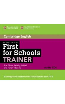 First for Schools Trainer Audio CDs (3) -- CD