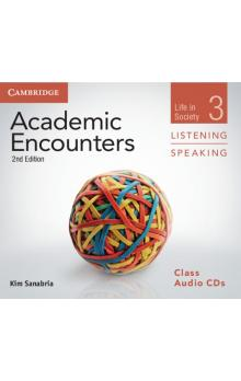 Academic Encounters Level 3 Class Audio CDs (3) Listening and Speaking -- CD