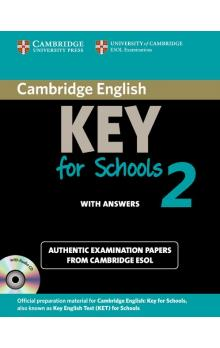 Cambridge English Key for Schools 2 Self-study Pack (Student's Book with Answers and Audio CD) -- Rozšiřující vzdělávací materiály