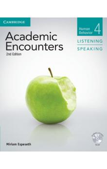 Academic Encounters Level 4 Student's Book Listening and Speaking with DVD -- Učebnice