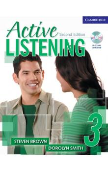 Active Listening 3 Student's Book with Self-study Audio CD -- Učebnice