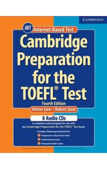 Cambridge Preparation for the TOEFL Test Audio CDs (8) -- CD