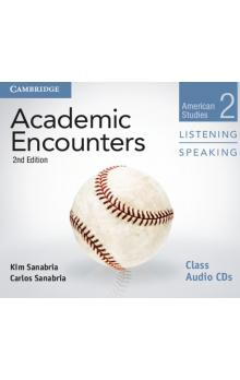 Academic Encounters Level 2 Class Audio CDs (2) Listening and Speaking -- CD