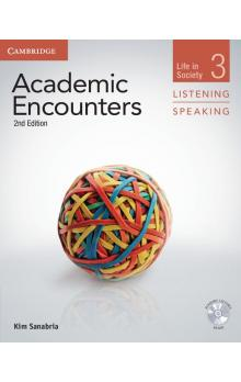 Academic Encounters Level 3 Student's Book Listening and Speaking with DVD -- Učebnice
