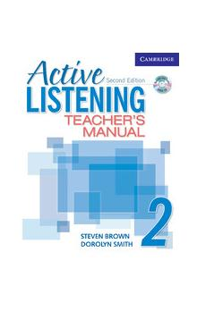 Active Listening 2 Teacher's Manual with Audio CD -- Příručka učitele