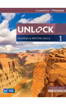 Unlock Level 1 Reading and Writing Skills Student's Book and Online Workbook -- Učebnice