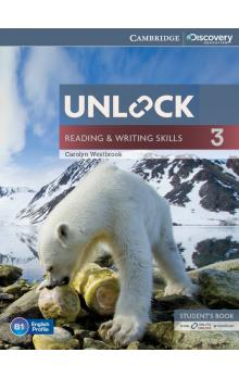 Unlock Level 3 Reading and Writing Skills Student's Book and Online Workbook -- Učebnice - Westbrook Carolyn