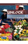 Unlock Level 3 Listening and Speaking Skills Student's Book and Online Workbook -- Učebnice