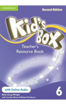 Kid's Box Level 6 Teacher's Resource Book with Online Audio, 2 ed -- Příručka učitele