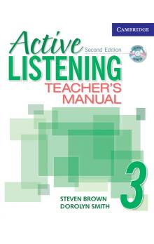Active Listening 3 Teacher's Manual with Audio CD    Příručka učitele
