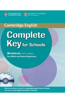 Complete Key for Schools Workbook with Answers with Audio CD -- Pracovní sešit