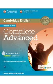 Complete Advanced Student's Book without Answers with CD with Testbank -- Učebnice - Brook-Hart Guy, Haines Simon