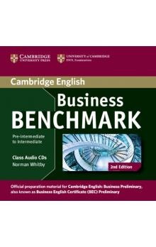 Business Benchmark Pre-intermediate to Intermediate Business Preliminary Class Audio CDs (2) -- CD - Whitby Norman