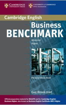 Business Benchmark Advanced Personal Study Book for BEC and BULATS -- Učebnice - Brook-Hart Guy