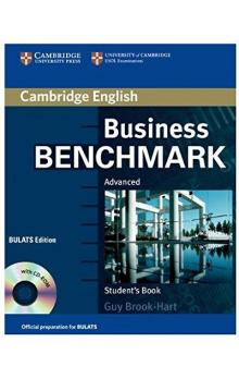 Business Benchmark Adv. with CD-ROM BULATS Ed. Student's Book with CD -- Učebnice - Brook-Hart Guy