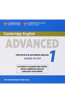 Cambridge English Advanced 1 for Revised Exam from 2015 Audio CDs (2) -- CD