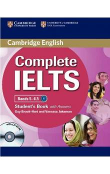 Complete IELTS Bands 5-6.5 Student's Book with Answers with CD-ROM -- Učebnice
