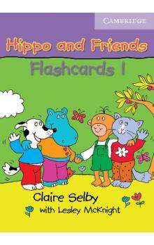 Hippo and Friends 1 Flashcards Pack of 64 -- Doplňky