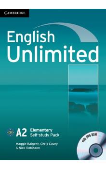 English Unlimited Elementary Self-study Pack (Workbook with DVD-ROM) -- Pracovní sešit
