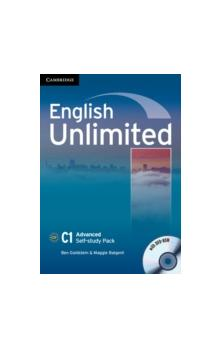 English Unlimited Advanced Self-study Pack (Workbook with DVD-ROM) -- Pracovní sešit