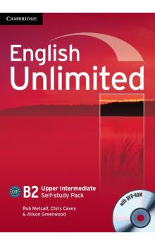 English Unlimited Upper Intermediate Self-study Pack (Workbook with DVD-ROM) -- Pracovní sešit