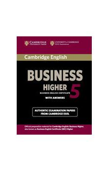 Cambridge English Business 5 Higher Student's Book with Answers -- Roz�i�uj�c� vzd�l�vac� materi�ly